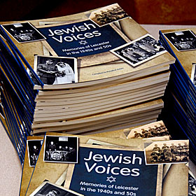 Stack of Jewish Voices Books